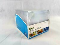 HP Slim Jewel Cases CDs and DVDs Box of 30