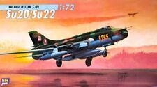 Osipovič SUCHOJ-MONTATORE su-20/su-22 C/F (Peruviano, smalto e sovietico AF MARCATURE) 1/72 SK