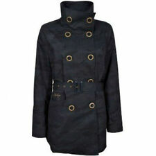 Knee Length Petite Double Breasted Coats & Jackets for Women