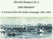 "25mm 28mm Skirmish Wargame ""After Khartoum"" Sudan Campaign Colonial"
