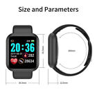 Smart Watch Bluetooth Bracelet Blood Pressure Heart Rate Fitness Tracker IP67