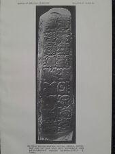 Tikal Guatemala Maya Glyphs Initial Series Stela 3 Mesoamerican 1915