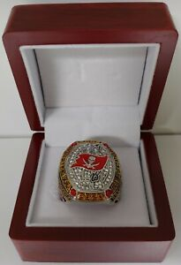 Tom Brady - 2020 Tampa Bay Buccaneers Super Bowl Ring With Wooden Box