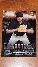2011 Playoff Contenders #9 Carlos Gonzalez Baseball Card (#061 of 299)