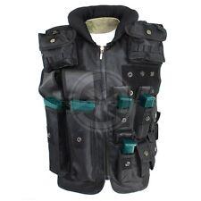 Tactical SWAT Airsoft Adjustable Zip-Up Vest w/ Pistol & 5.56 Magazine Pouches