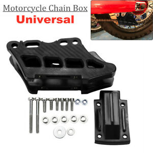 Cross-country Motorcycle Chain Guide Box Protect Cover Fit for YAMAHA KAWASAKI