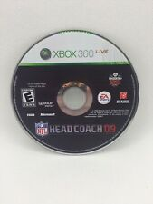NFL Head Coach 09 (Microsoft Xbox 360, 2008) - Tested And Working! Disc Is Mint