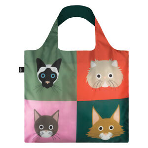 LOQI- Shopping Bag Cats & Dogs Collection - Cats