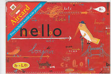 Royal Mail pre paid world wide aircard - Hello Illustration (Sealed)