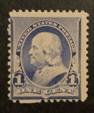 Tdstamps: Us Stamps Scott#219 1c Franklin Mint Lh Og