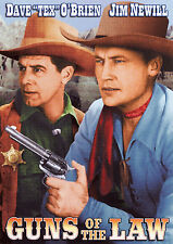 Guns of the Law 1944 Dave O'Brien, Jennifer Holt  Western Drama DVD