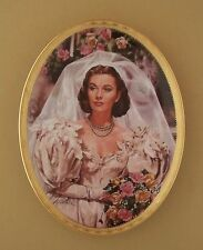 Gone With The Wind CAMEO MEMORIES Oval Plate PEARLS AND PROMISES #4 + COA
