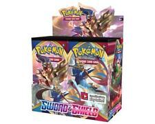 Pokemon SWORD y SHIELD Booster Caja De 6