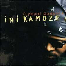 Ini Kamoze Lyrical Gangsta CD Album 3150