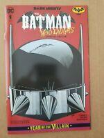 Batman Who Laughs #1 *Batman Day Variant* Dark Nights METAL Year Of The Villain