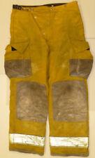 38x32 Globe Fire Wear Yellow Firefighter Pants Bunker Turnout  P876
