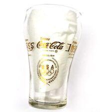 Coca Cola Coke USA Verre Verre - Olympia 1976 22 Carat or Logos