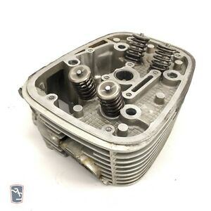 Bmw R1100S Left Engine Cylinder Head 11121342199 With Valve Assy 2002 OEM - A431