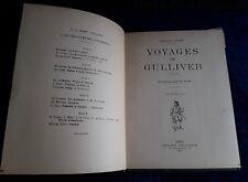 LES VOYAGES DE GULLIVER, J SWIFT, ILLUSTRATIONS DE JOB 1947