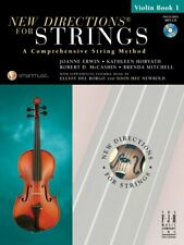 New Directions for Strings Violin Book 1 includes 2 CDs, SB303VN