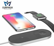 EURPMASK Updated Version 2-in-1 Wireless Charger Stand Compatible