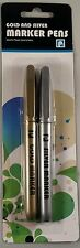 Gold and silver marker pens gold & Silver Children, kids, school,Home,Office Use