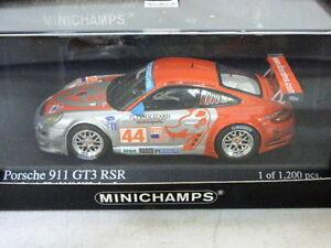 Minichamps Porsche 911 GT3 RSR Law / Long 2nd GT2 ALMS Long Beach GP 2007