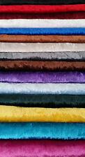 Velluto panné, di prima qualità, in tinta unita, tanti colori
