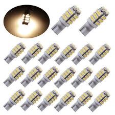 20pc 12V T10/921/194 Warm White RV Trailer 42-SMD Backup Reverse LED Light Bulbs