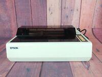 Epson RX-80 F/T Dot Matrix Printer Parallel Original Box Powers On Not Tested