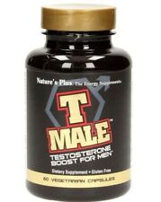 Natures Plus T Male Testosterone Boost For Men Dietary Supplement 60 Capsules