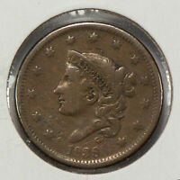1838 1c Coronet Head Large Cent SKU-Y2560