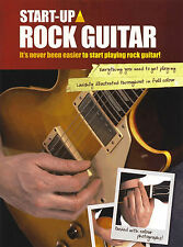 Learn How To Play Rock Guitar Easy Teach Yourself Method Sheet Music Book TAB