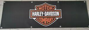 Harley Davidson PVC Plane Banner 150x50cm Fahne