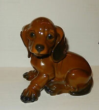 Alte Rosenthal Porzellan Figur Junge Dackel