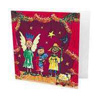 Pack of 10 Quentin Blake British Heart Foundation Charity Christmas Cards