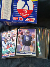 1990 Score Young SuperStars Set NFL Football