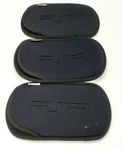 Sony PSP System Pouch Fits PSP 1000 2000 3000 LOT of 3