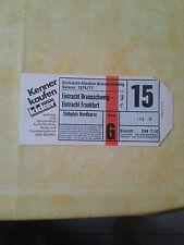 76/77 Eintracht Braunschweig - Eintracht Frankfurt