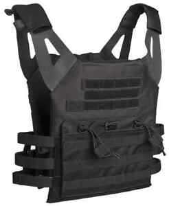 Plate Carrier Weste GEN.II black, Paintball, MagFed, Softair, Airsoft