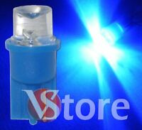2 LED T10 BLU CONCAVE  Lampade Per Targa Luci Posizione Lampadine W5