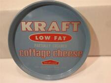 VINTAGE KRAFT LOW FAT PARTIALLY CREAMED COTTAGE CHEESE SMALL CURD TIN LID 1 Pint