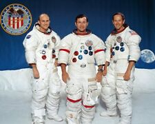 Nasa Apollo 16 Crew Mattingly Junge & Duke 16x20 Silber Halogen Fotodruck