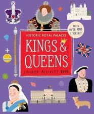 Kings and Queens Sticker Activity Book by Jessica Smith
