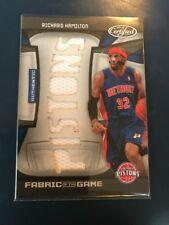 NBA Jersey Card Richard Hamilton Panini certified 10-11 23/25(V Rare)