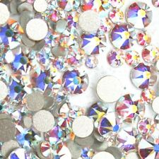 144 pieces (Any Size) Swarovski AB Crystal ( No-Hotfix ) Flatback Rhinestone