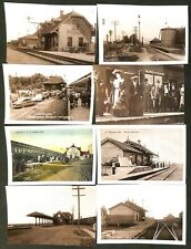 Canada - Quebec - 20 Railway Stations Postcards from Vaudreuil-Soulanges