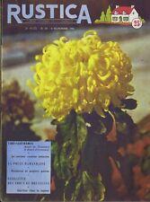 Rustica 45 04/11/1956 Chrysanthèmes Poisson Lote