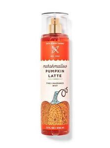 Marshmallow Pumpkin Latte by Bath and Bodyworks