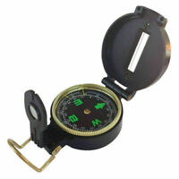 Pocket Outdoor Military Hiking Camping Lens Survival Lensatic Mini Compass A7X8